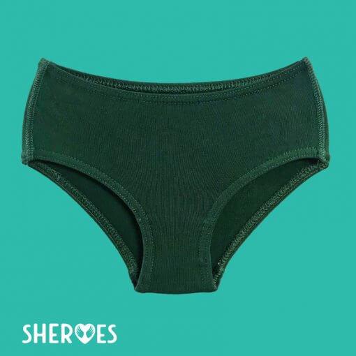 bottle-green-girls-school-underwear-singles