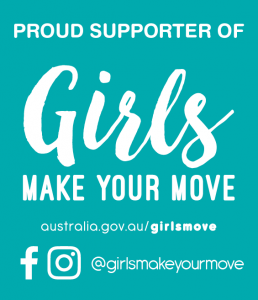 sHEROes supports Girls Make your move